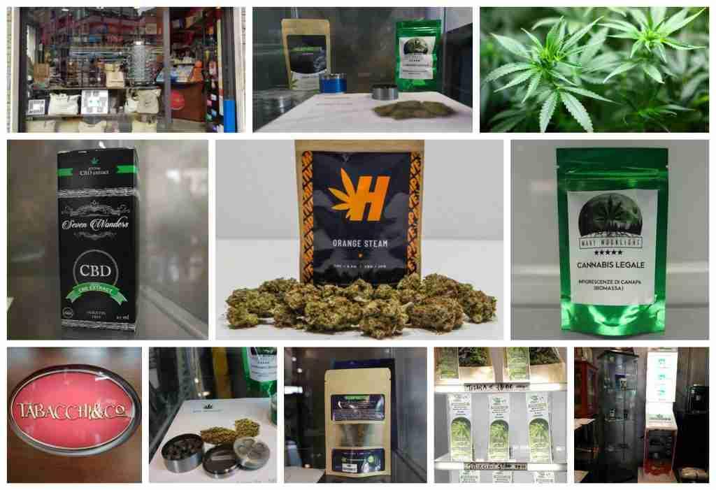 Confezioni di marijuana light