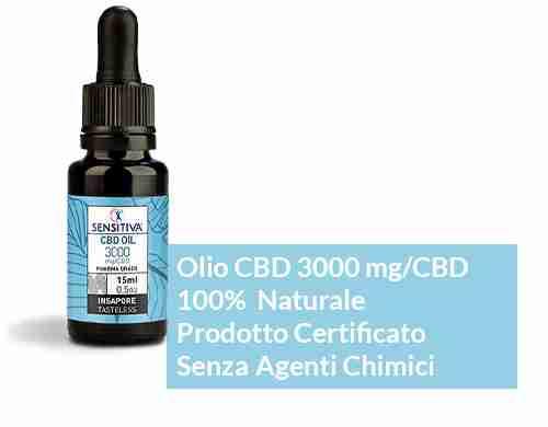 olio cbd 20% sensitiva