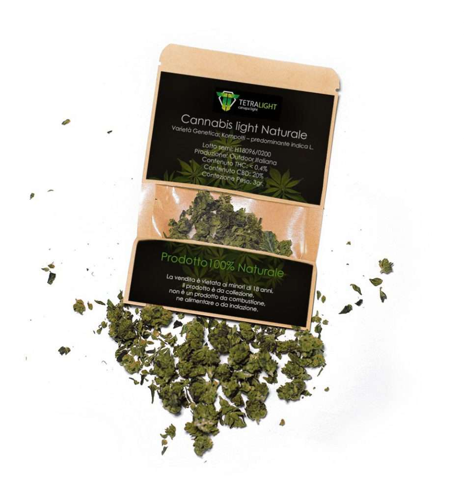 Cannabis light Naturale Tetralight
